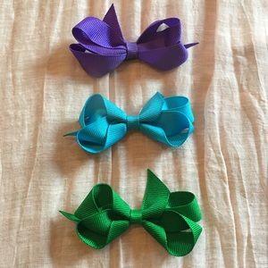 Grosgrain Bow Trio